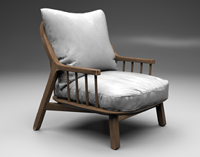 Armchair Richard 3D model