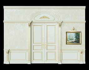3D Doors classic Boiserie wall panels