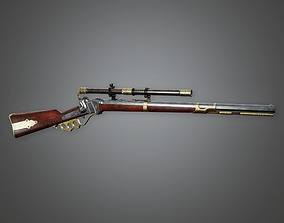 3D model FPS Western Sniper - Brass Knuckle