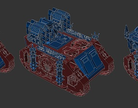High Detail Sisters of Battle Repressor 3D print model 2