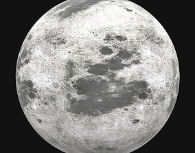 The Moon 3D asset realtime