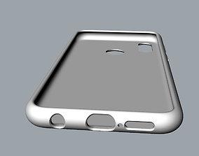 3D model flagship Huawei P20 lite White CASE