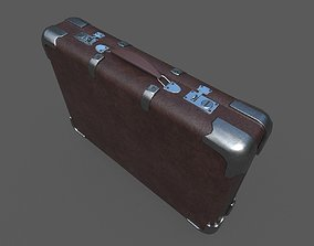 3D asset Low Poly Valise 2