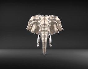 3D printable model Elephant Door Knocker