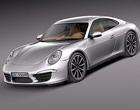 Porsche 911 Carrera 2013 3D model