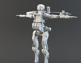PathFinder Apex Legends LowPoly 3D model