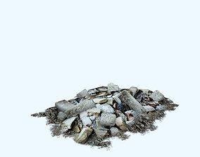 3D model debris