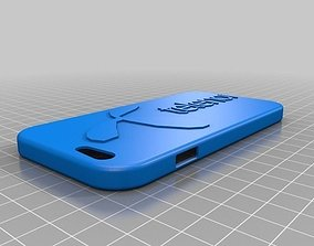3D printable model Telenor branded iPhone 6 and 6s case
