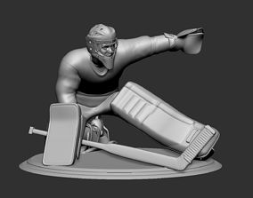 Hockey Player goalie Collectible Figure 5