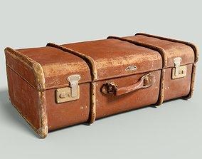 Vintage Suitcase Retro 3D asset VR / AR ready