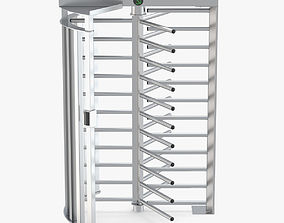 Turnstile Single Gate Full Height 3D