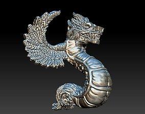 3D printable model Quetzalcoatl