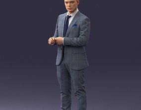 Businessman 0607 3D Print Ready