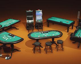 3D asset Casino Props Pack UE4 UNITY