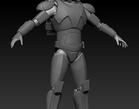 3D printable model Clone Force 99 Hunter Full Size Armor
