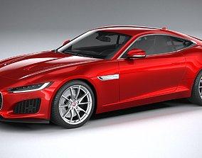 3D Jaguar F-Type Regular Coupe 2021