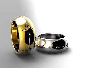 3D print model Ring 01b
