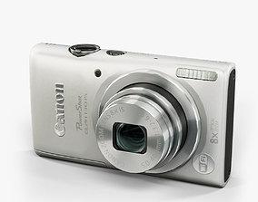 Canon PowerShot Elph 130 Is compact digital 3D model