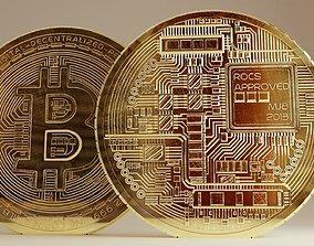 Bitcoin 3d Models Cgtrader