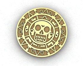 3D print model Mayan calendar