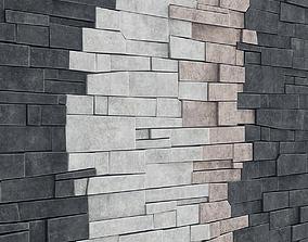 Finishing decorative stone 3D design