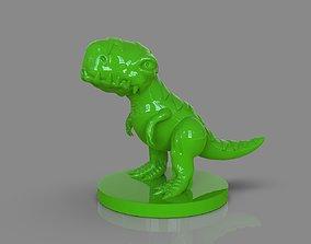 Stylized Dinosaur T Rex 3D printable model