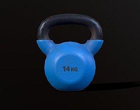 Kettlebell 14 kg 3D model