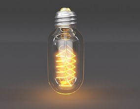 Vintage Lightbulb 3D model
