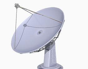 3D model game-ready Satellite Dish
