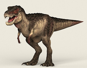Game Ready Dinosaur Trex 3D asset