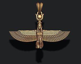 Isis pendant egypt 3D print model