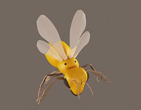 Honey Bee 3D model VR / AR ready