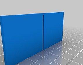 Parametric OBI container divider 3D print model
