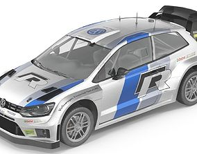 3D model VW polo r