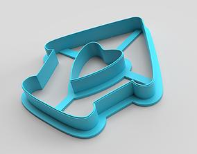 Cookie cutter - Hut 3D printable model