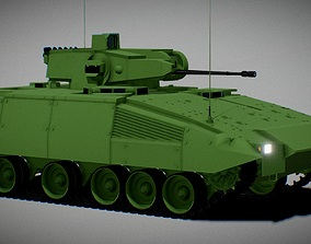 Infantry fighting vehicle Puma IFV 3D Model game-ready