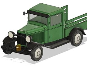 vehicle Farm Truck STL for resin 3d-printing