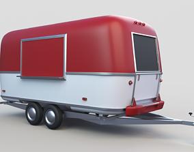 street Food Truck 3D model