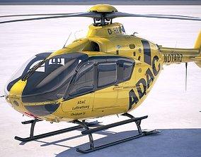 3D model ADAC Eurocopter EC135