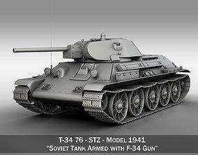T-34-76 - STZ - Model 1941 - Soviet Medium