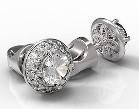 jewelry 3D printable model Earrings