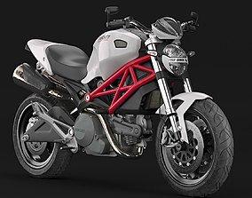 Ducati Monster 696 3D model