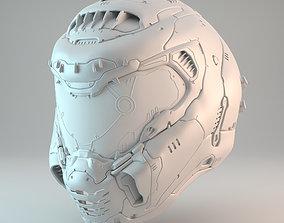 Doom Eternal Slayer Helmet 3D printable model