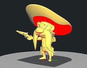 hat 3D printable model Cowboy Yosemite Sam