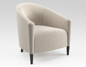 3D model Greco Armchair by The Sofa and Chair