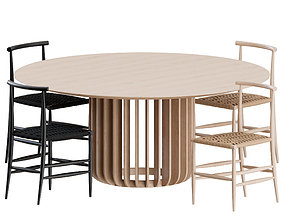 furniture 3D Dinning Set by Miniforms