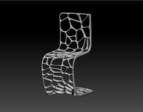 Exquisite chair hotel 3D print model