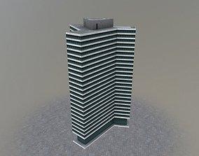 Hamburg Unileverhaus 3D asset