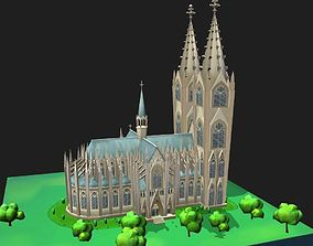 3D asset World Architecture 2 Cologne Cathedral