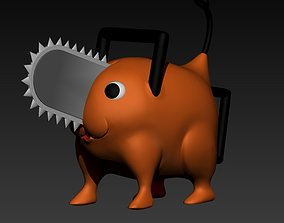 Pochita Chainsaw Man 3D printable model